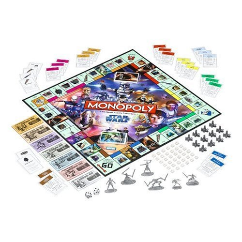 Star Wars The Clone Wars Monopoly - coolthings.us