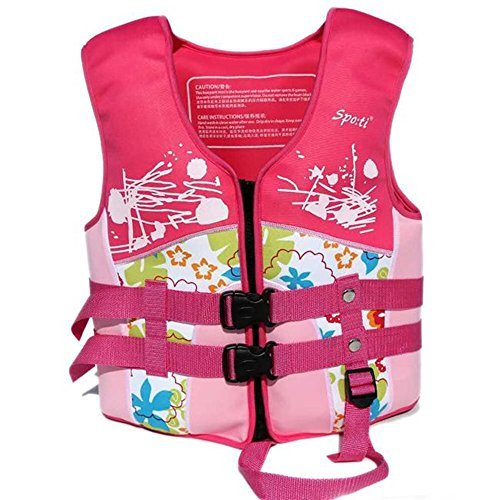 Lycra Float Suit - Rayma 2016 Children Buoyant Folding Life Jacket/life Vest Dynamic And Brightly colored Swimming Suit For Water Sports & Games Safety Swimsuit (Small)