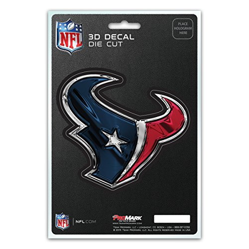 Team ProMark NFL Houston Texans 3-D Decal