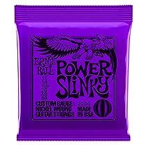 Ernie Ball Power Slinky Nickel Wound Set, .011 - .048