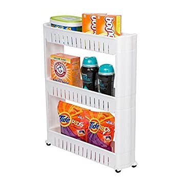 Mufira Slide Out - Estante para especias con ruedas 3-tier: Amazon.es: Hogar