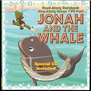 Jonah And The Whale Bible Story Book with CD