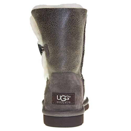 Bota BAILEY BJCN Zapatos UGG 38 choco BOMBER BUTTON Gris 5Er56wq