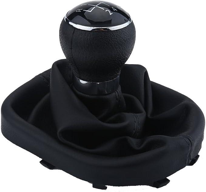 KIMISS Pomello cambio a 6 marce per Passat B7 2011-2012 kit telaio cuffia avambraccio pomello cambio auto