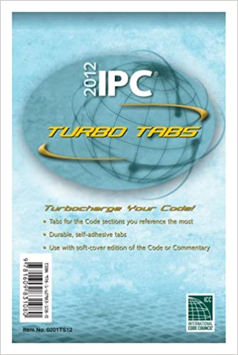 2012 International Plumbing Code Turbo Tabs for Loose Leaf Edition (International Code Council Series)