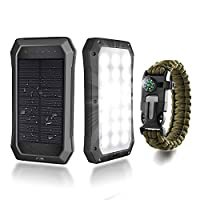 Solar Charger with Wrist Compass, Nextam...