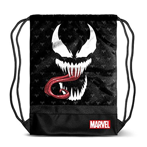 - Marvel Superheroes Sack/Drawstring Bag, 48x10x35 cm (Venom)