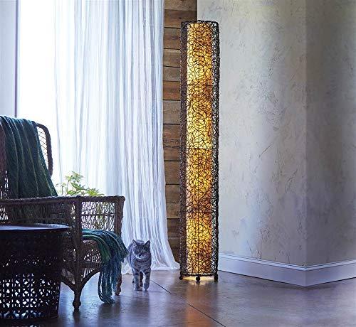 Eangee Home Designs 314 XL N Durian Floor Lamp