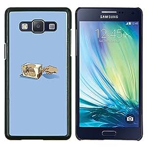 TECHCASE---Cubierta de la caja de protección para la piel dura ** Samsung Galaxy A5 ( A5000 ) 2014 Version ** --Lápiz Grinder