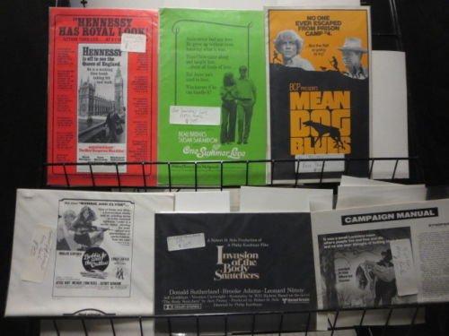 Movie Press-Book lot of 19 from 60s + 70s Hepburn Fonda Movie Memorabilia F-VF