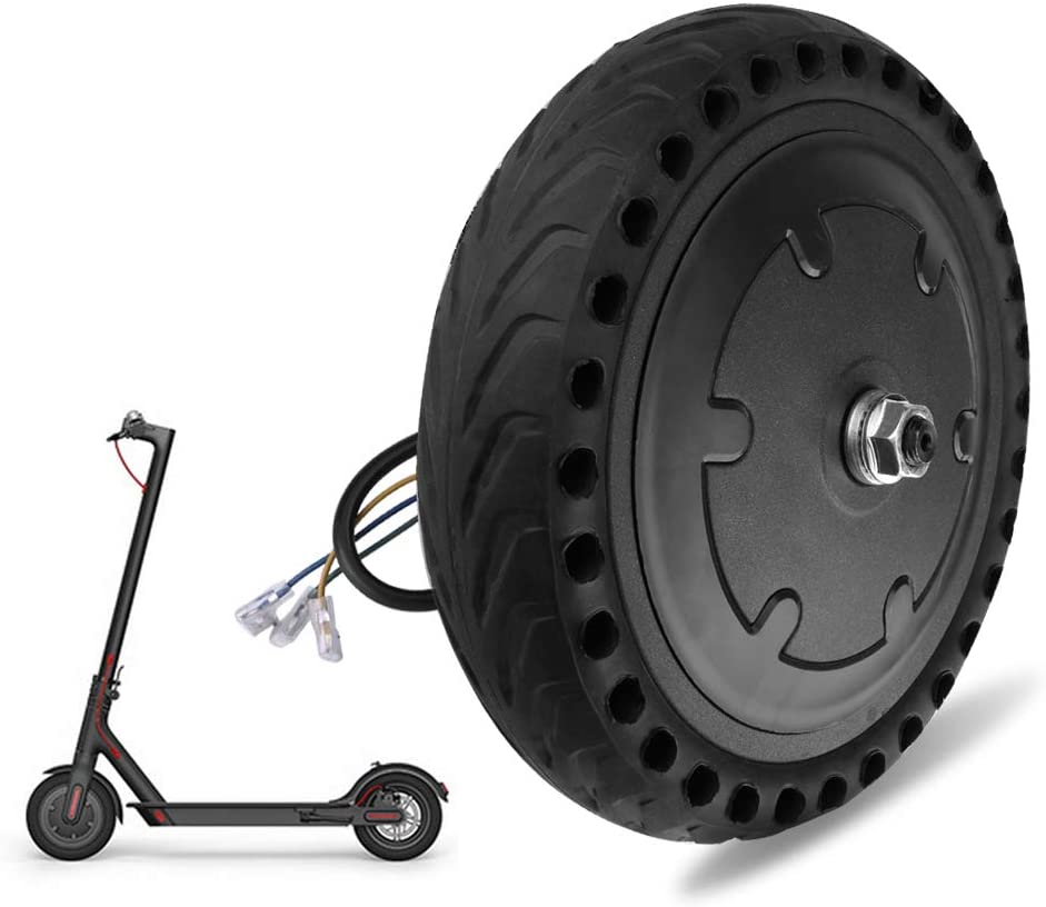 Goolsky Motor and Explosion Proof Honeycomb Structure Anti-Skid Wheel Tire Set for M365 Electric Scooter