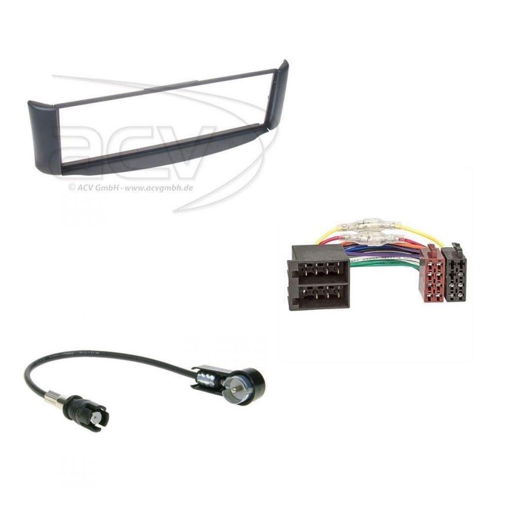 Jvc R481 USB 1DIN MP3 CD AUX Radio de coche para Smart Fortwo 450 ...