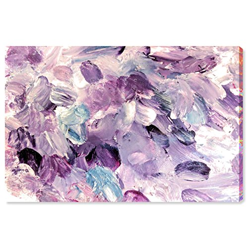 The Oliver Gal Artist Co. Abstract Wall Art Canvas Prints 'Amethyst Gardens' Home Décor, 45
