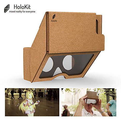 HoloKit: Cardboard-like Augmented / Mixed Reality Headset For Everyone. Compatible with iPhone and Android via ARKit, ARCore, - Eyewear Museum