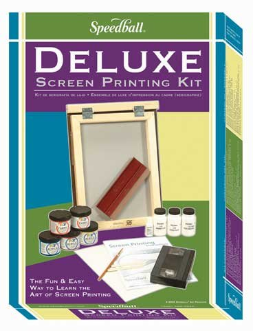 Speedball Deluxe Screen Printing Kit Deluxe Kit by Speedball