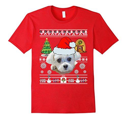 Maltese Dog Mom Shirt Christmas Love Gifts