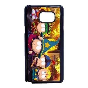 South Park M9U6CL1S Caso funda Samsung Galaxy Note 5 Caso funda Negro
