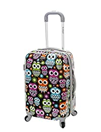 ROCKLAND F151-OWL 20-Inch Polycarbonate Carry-On, Owl, One Size