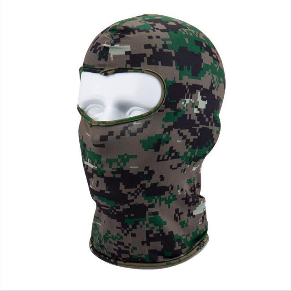 Camouflage Winter Fleece Warm Full Face Cover Anti-Dust Windproof Ski Mask Camouflage