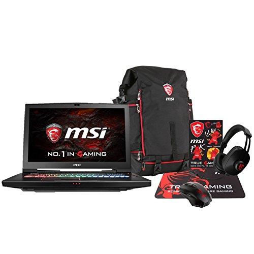 MSI GT73VR Titan Pro-005 (i7-7700HQ, 16GB RAM, 512GB NVMe SSD + 1TB HDD, NVIDIA GTX 1080 8GB, 17.3