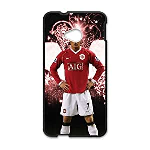 HTC One M7 Cell Phone Case Black Cristiano Ronaldo NLZ Back Personalized Case