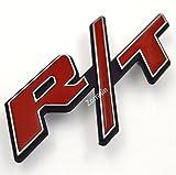 Automotive : zorratin Chrome Trim R/T RT Metal Hood Grill Emblem Badge w/ Mount for Dodge Challenger Charger Durango Dakota Dart SRT