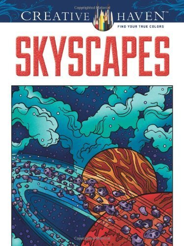 Creative Haven SkyScapes Coloring Book (Adult Coloring) by Jessica Mazurkiewicz (2012-11-21)