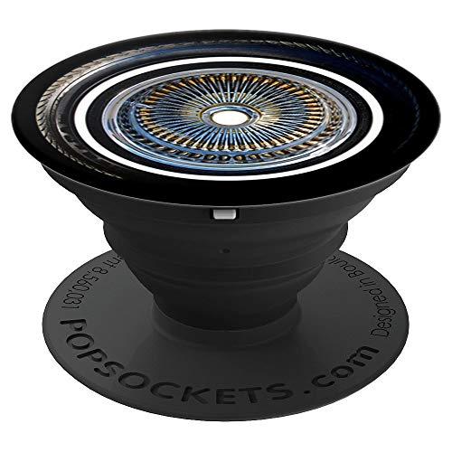 Photo Lowrider Rims Wire Wheel - PopSockets Grip and Stand for Phones and Tablets