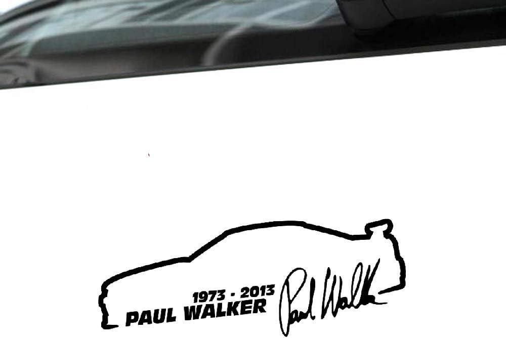 Mode Auto Aufkleber Paul Walker Fast Furious Auto Styling Vinyl Aufkleber Für Mini Cooper Kia Rio Passat B6 Lada 13 Cm 5 Cm Baumarkt