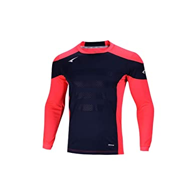 fb8df1e9f7b Ucan Soccer Goalkeeper Jersey Padded Goalie Jersey Youth Men Long Sleeve  Shirt Red XX-Small
