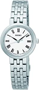 Seiko SRZ461P Silver Tone Womens Watch