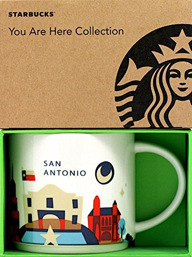Starbucks San Antonio You Are Here Mug 2013 (Mug San Coffee)