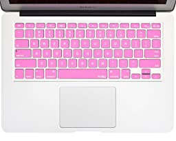 Kuzy - ROSE PINK Keyboard Cover Silicone Skin for MacBook Pro 13\