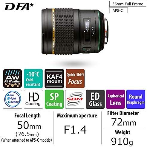 Hd Pentax D Fa50mmf1 4 Sdm Aw Die Neue Generation Der Kamera