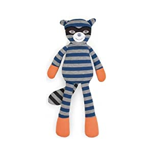 Plush animal Robbie Racoon from organic cotton, Apple Park by Apple Park