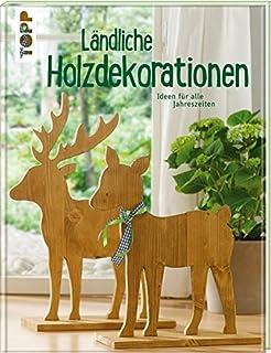 Romantische Holzideen: Dezent bemalt und liebevoll verziert ...