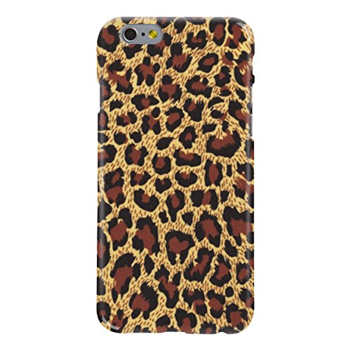 iPhone 7 Case, Leopard Print Pattern Snap On Hard Case for iPhone 7 (4.7 inches), Ultra Slim iPhone 7 Cover