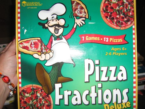 3rd 4th grade pizza fractions games