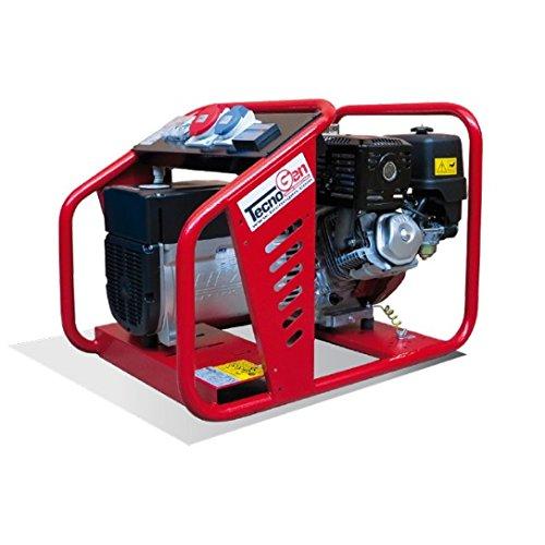 Generatore gruppo elettrogeno tecnogen h5000 motore honda for Stabilizzatore di tensione 220v 3kw prezzi