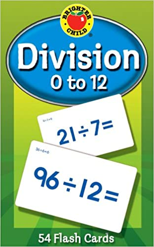 Brighter Child Flash Cards:Division 0-12