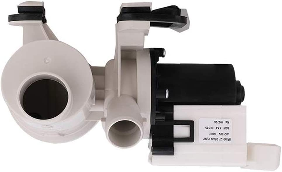 Original Version Ecumfy W10130913 W10730972 Washer Drain Pump Compatible with Whirlpool Replaces 8540024 W10117829 AP4308966 PS1960402
