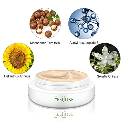 51G9xMhcPzL - FeelTure Peptide Moisturizer Anti Aging Face Cream - Face & Neck Wrinkle Lotion - Reduce Appearance of Wrinkles, Dark Circles, Fine Lines & Acne - 1.76 oz