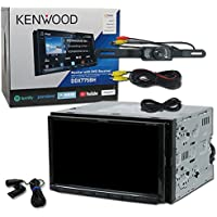 2018 Kenwood Car Double DIN 2DIN 7 DVD CD receiver Bluetooth with Dual camera input & WebLink Plus DCO (Back-up Camera)