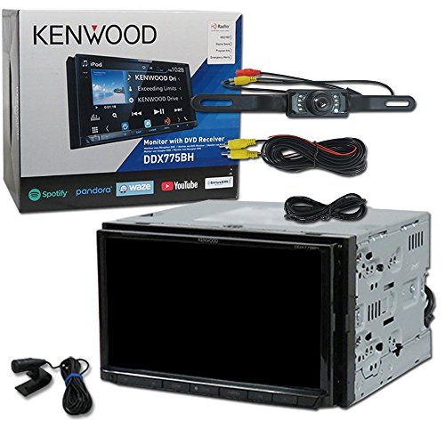 "2018 Kenwood Car Double DIN 2DIN 7"" DVD CD Receiver Bluetooth with Dual Camera Input & WebLink Plus DCO (Back-up Camera)"