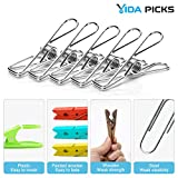 Vida Picks Stainless Steel Clothespins Laundry