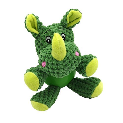 EETOYS Squeaky Plush Toy Low Stuffing Durable Animal Toy for