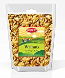 SUNBEST Natural Shelled Raw California Walnuts in Resealable Bag 40 Ounce (2.5 Lb)