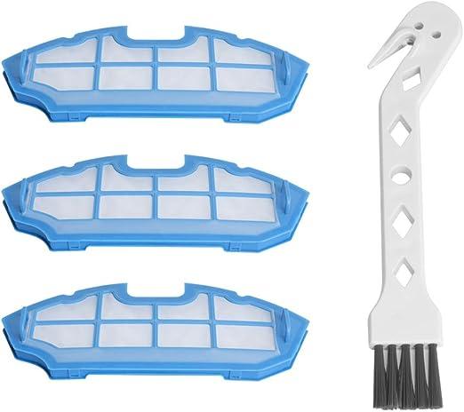 Casimy Reemplazo de filtros para Cecotec Conga Excellence 990 Robot Aspirador, Material Premium, Kit de Recambio del Filtro de Repuesto, Pack Familiar de 3 Filtros: Amazon.es: Hogar