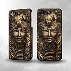 Apple iPhone 4 / 4S Case - The Best 3D Full Wrap iPhone Case - Antique Eyptian Pharaoh