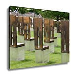Ashley Canvas, Oklahoma City Bombing Memorial, 24x30